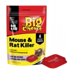 Mouse & Rat Killer. 6 Sachets.